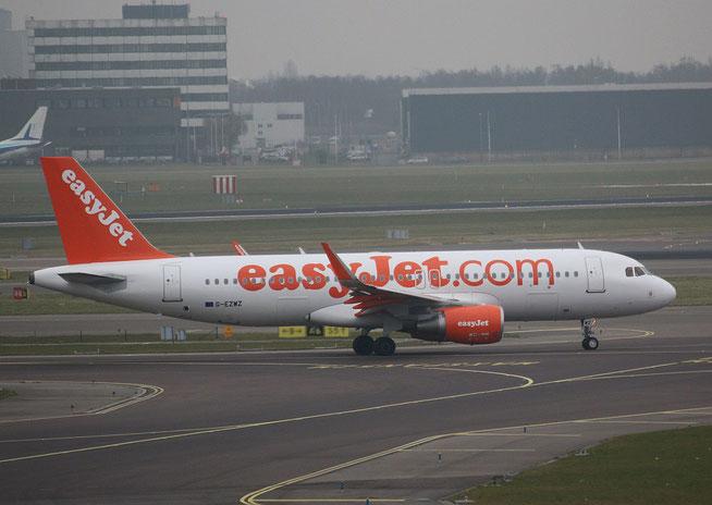 """A 320-214(W)  """" G-EZWZ """" easyJet -1"""