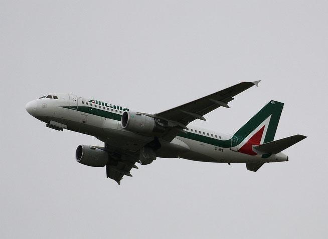 """A 319-111 """" EI-IMS """"  Alitalia -1"""