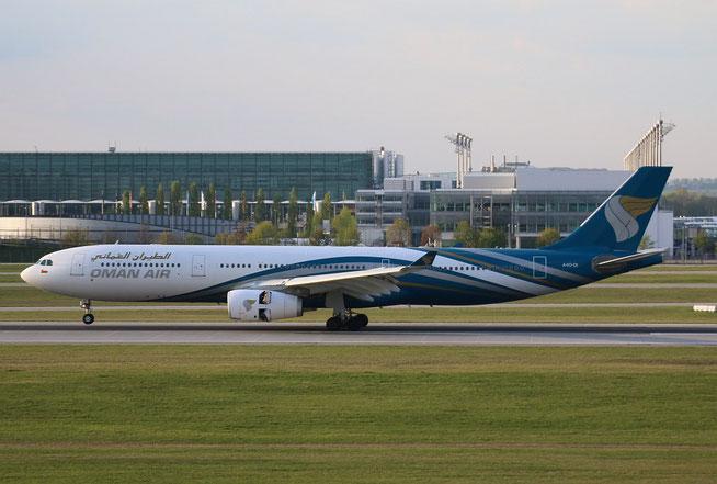 "A 330-343 "" A4O-DI ""  Oman Air -2"