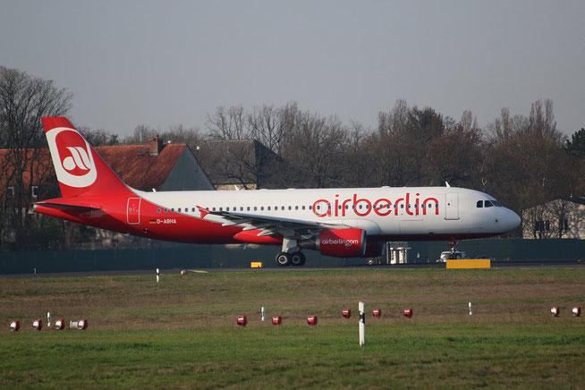 """A 320-214 """" D-ABHA """"  Air Berlin -1"""