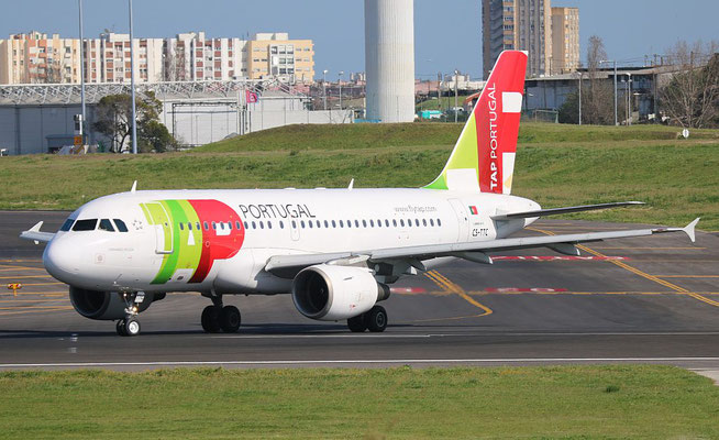 "A 319-111 "" CS-TTC ""  TAP Air Portugal -2"