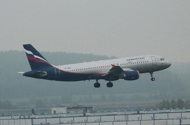 """A 320-214  """" VP-BQW """"  Aeroflot -1"""