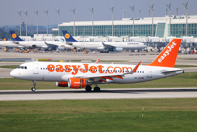 "A 320-214/W  "" HB-JXG "" easyJet Switzerland -1"