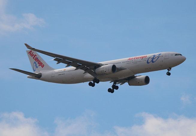 """A 330-343X  """" EC-LXR """"  Air Europa -3"""