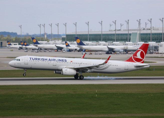 """A 321-231/W """" TC-JTL """"  Turkish Airlines -1"""