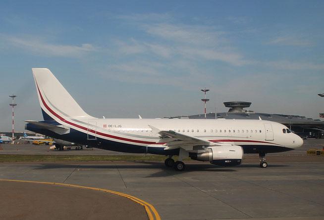 """A 319-115(CJ)  """" OE-LJG """"  MJet -2"""