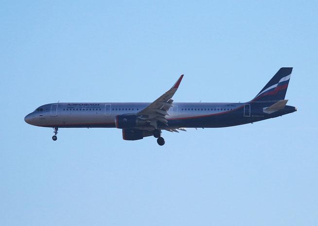 """A 321-211/W  """" VP-BEA """" Aeroflot -1"""