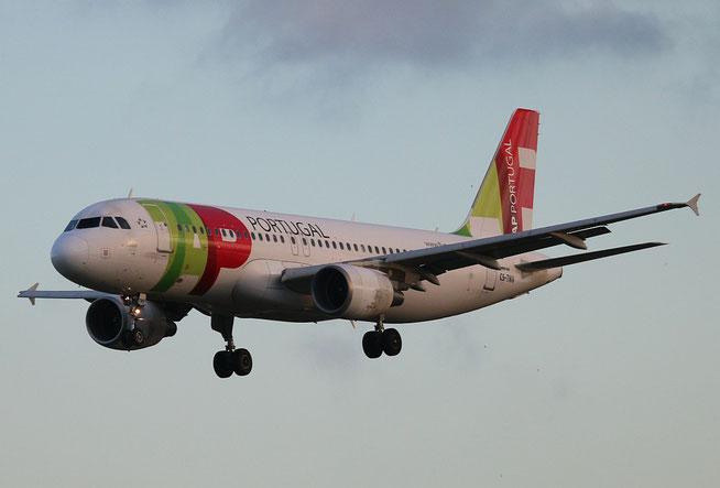 """A 320-214  """" CS-TNV """" TAP-Air Portugal -1"""
