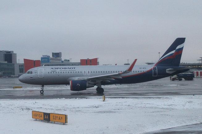 """A 320-214/WL  """" VP-BFE """"  Aeroflot -1"""
