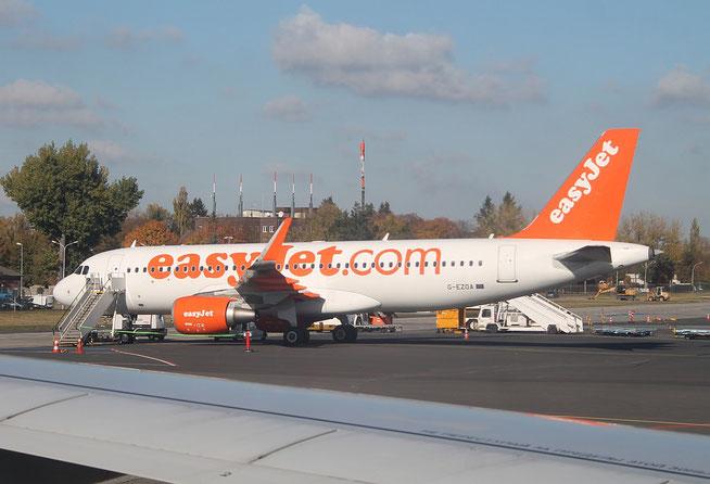 """A 320-214 (W)  """" G-EZOA """" easyJet -1"""