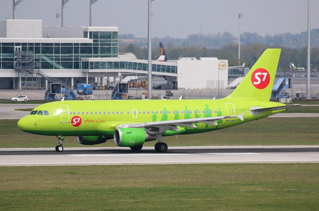 "A 319-114  "" VP-BHF "" S7 Airlines -2"