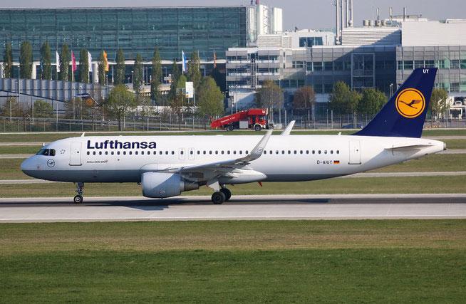 "A 320-214/W  "" D-AIUY ""  Lufthansa -1"