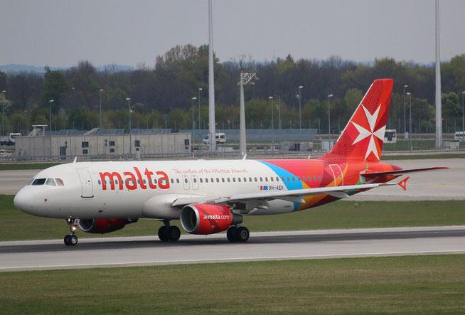 """A 320-211  """" 9H-AEK """"  Air Malta -3"""