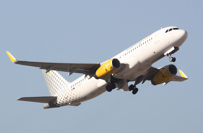 """A 320-232(W)  """" EC-MER """"  Vueling Airlines -1"""
