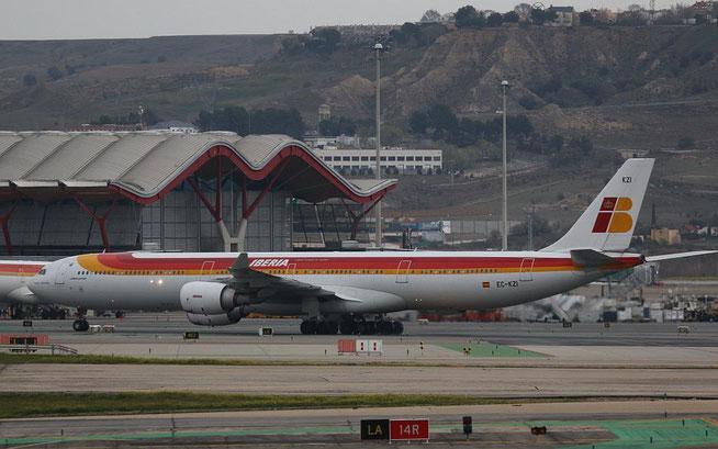 """A 340-642  """" EC-KZI """"  Iberia -1"""