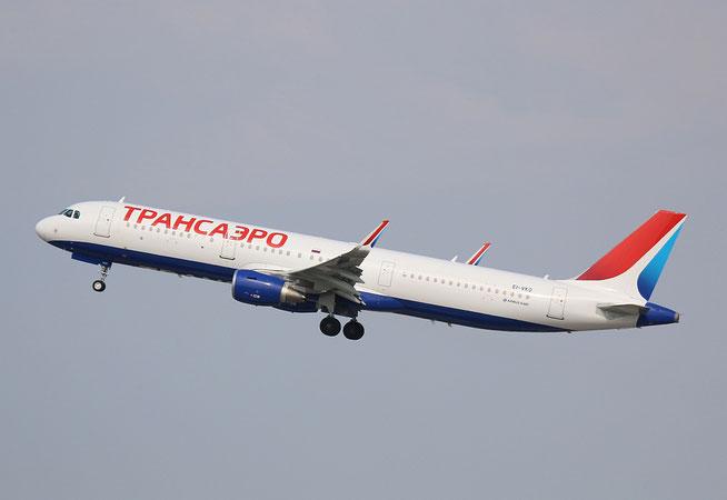 "A 321-211(W)  "" EI-VKO ""  Transaero Airlines -1"