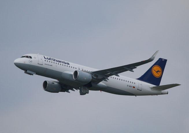 """A 320-214/W  """" D-AIUT """"  Lufthansa -1"""