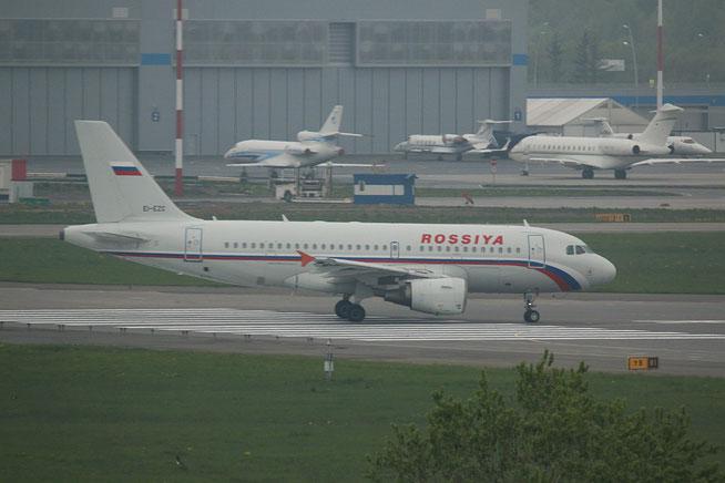 """A 319-112  """" EI-EZC """"  Rossiya -1"""