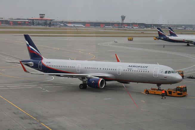 "A 321-211/W "" VP-BKI ""  Aeroflot -1"