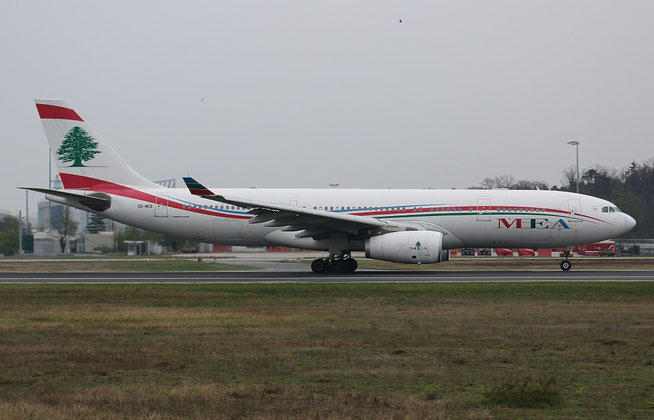 """A 330-243  """" OD-MEB """"  Middle East Airlines -2"""