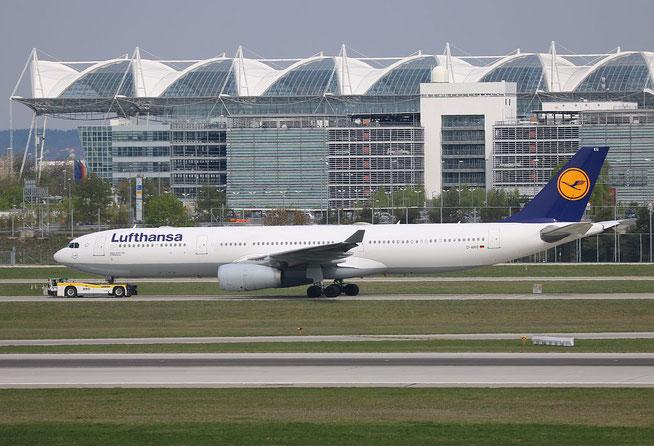 """A 330-343X """" D-AIKG """" Lufthansa -3"""