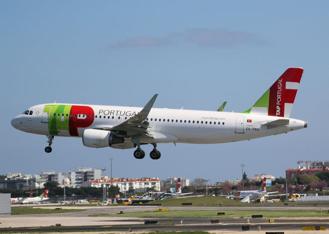 "A 320-214 /WL "" CS-TNQ "" TAP-Air Portugal -1"