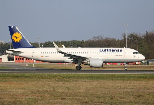 "A 320-214/W  "" D-AIUG ""  Lufthansa -2"