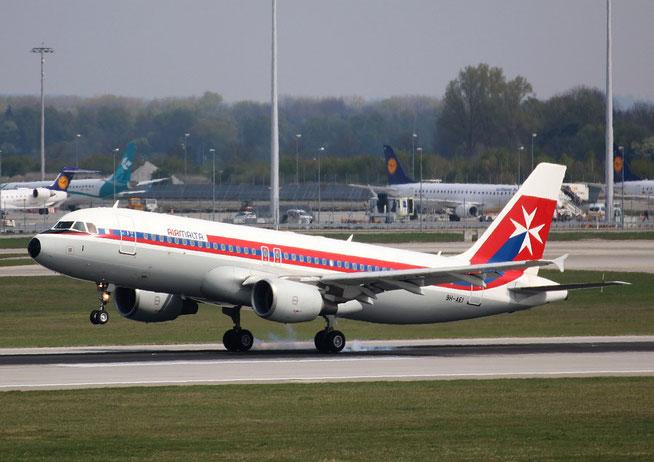 """A 320-214  """" 9H-AEI """"  Air Malta -1"""