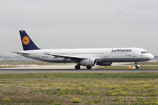 """A 321-231  """" D-AISQ """"  Lufthansa -1"""