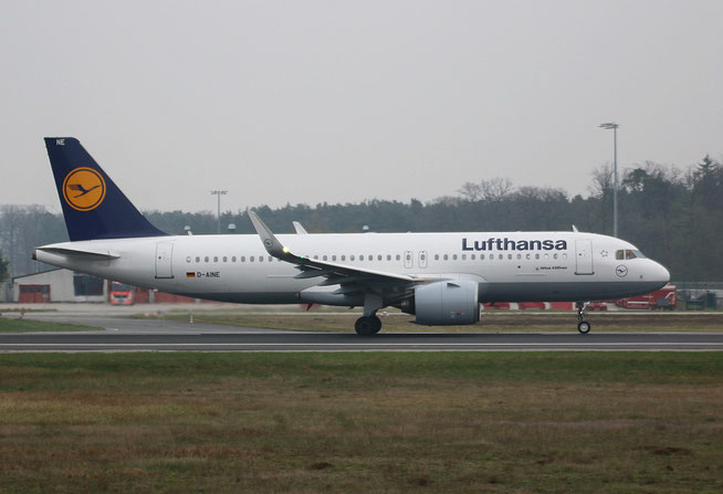 """A320-271n (W) """" D-AINE """"  Lufthansa -1"""