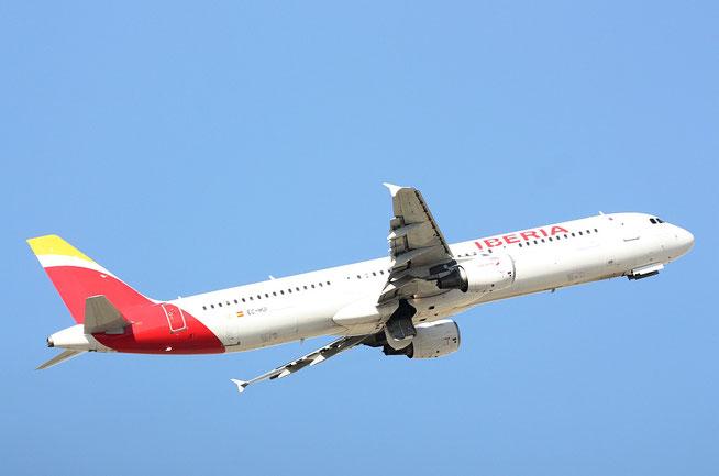 "A 321-211 "" EC-HUI ""  Iberia -3"