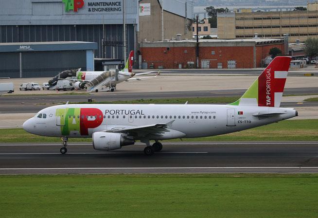 """A 319-111 """" CS-TTO """"  TAP Air Portugal -3"""