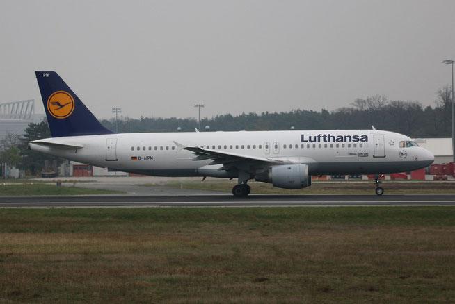 "A 320-211  "" D-AIPM ""  Lufthansa -1"