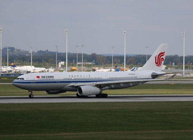 """A 330-243 """" B-6533 """"  Air China -1"""