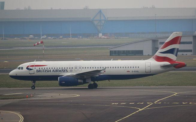 """A 320-232  """" G-EUUL """" British Airways -1"""