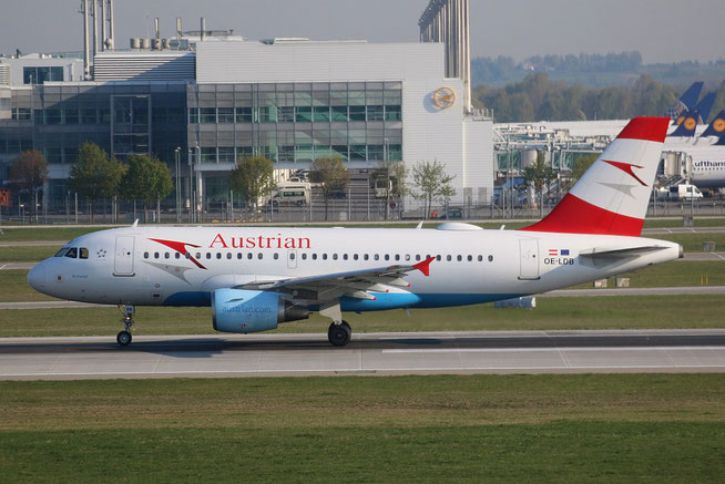 "A 319-112 "" OE-LDB "" Austrian Airlines -1"