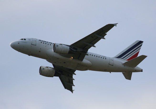 """A 318-111  """" F-GUGE """" Air France -2"""