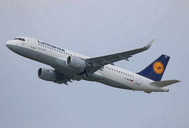 "A 320-214/W  "" D-AIUW ""  Lufthansa -1"