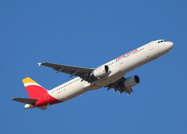 """A 321-211 """" EC-JDR """"  Iberia -2"""