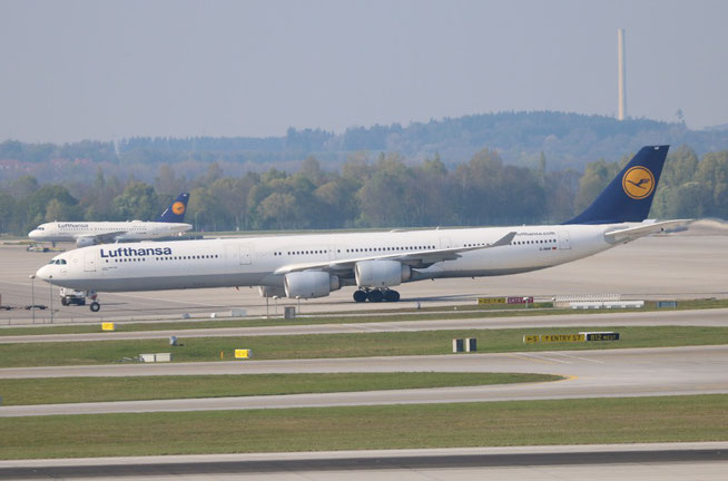 """A 340-642  """" D-AIHF """"  Lufthansa -1"""