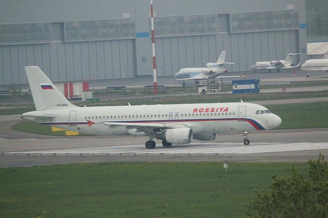 "A 320-214  "" VQ-BBM "" Rossiya -1"