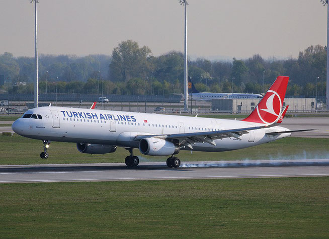 "A 321-231/W "" TC-JST ""  Turkish Airlines -1"
