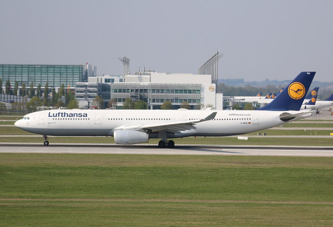 "A 330-343X "" D-AIKA "" Lufthansa -2"