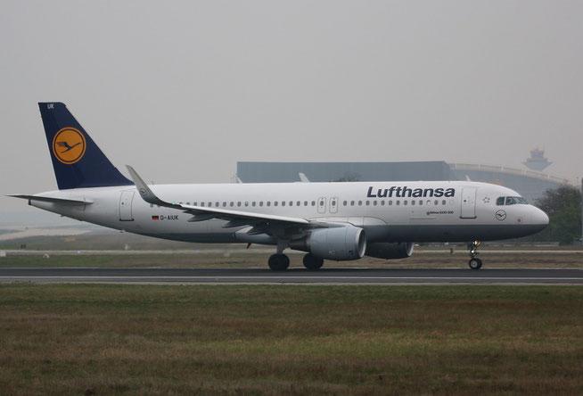 "A 320-214/W  "" D-AIUK ""  Lufthansa -1"