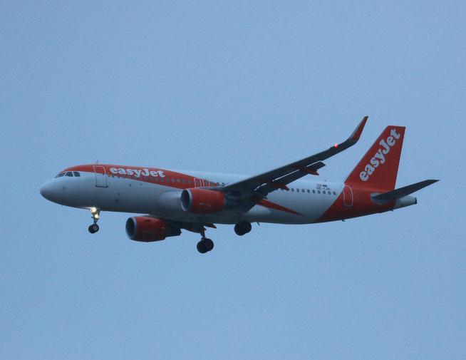 """A 320-214/WL  """" OE-IJH """" EasyJet -1"""