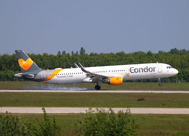 """A 321-211  """" D-ATCC """"  Condor -3"""