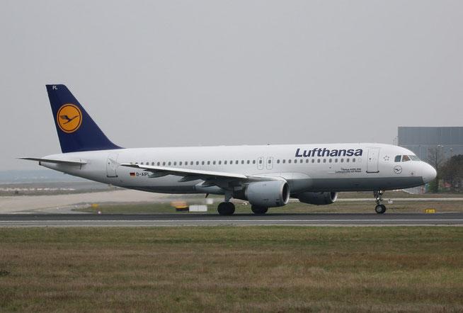 "A 320-211  "" D-AIPL ""  Lufthansa -1"