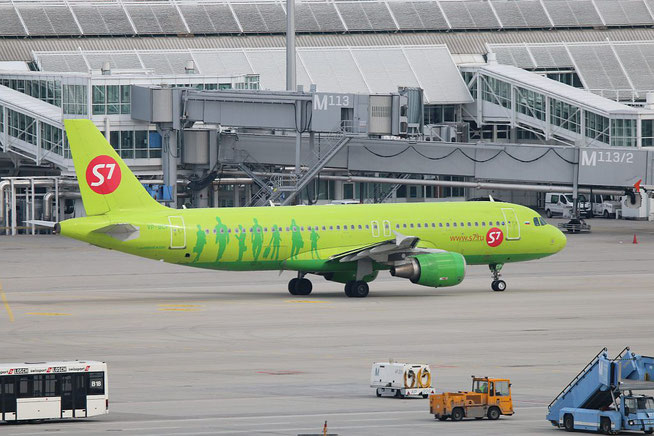 """A 320-214  """" VP-BCP """" S7 Airlines -1"""