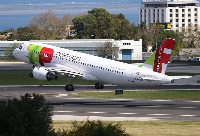 """A 320-214  """" CS-TNX """" TAP-Air Portugal -1"""