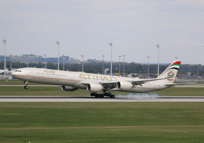 "A 340-642  "" A6-EHH ""  Etihad Airways -1"